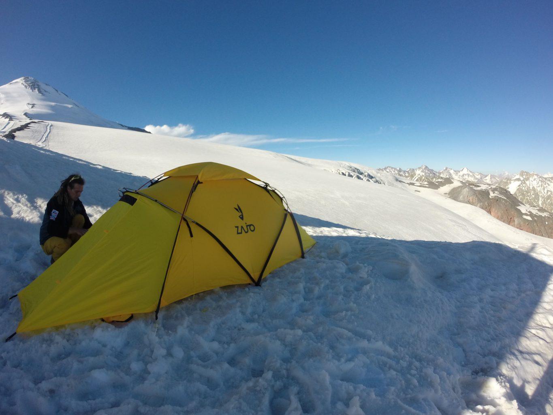 Naše expedice: slunce, sníh a stan