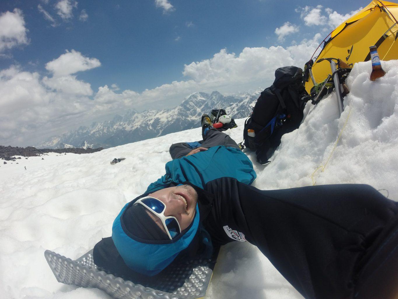 Relax ve sněhu, expedice Kavkaz