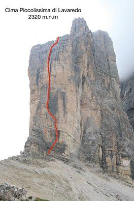 Na tento vrchol vedla naše cesta.