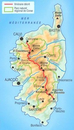 Korsika GR20