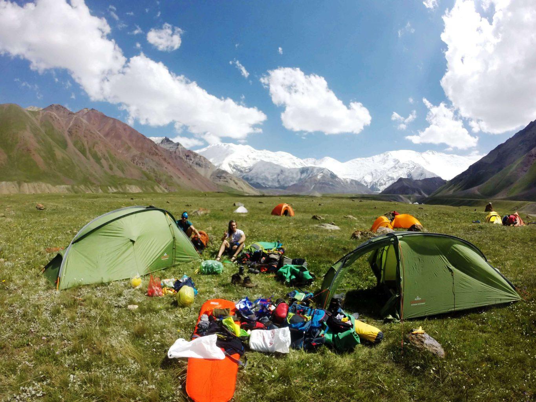 Expedice Pamír, 1. stanování