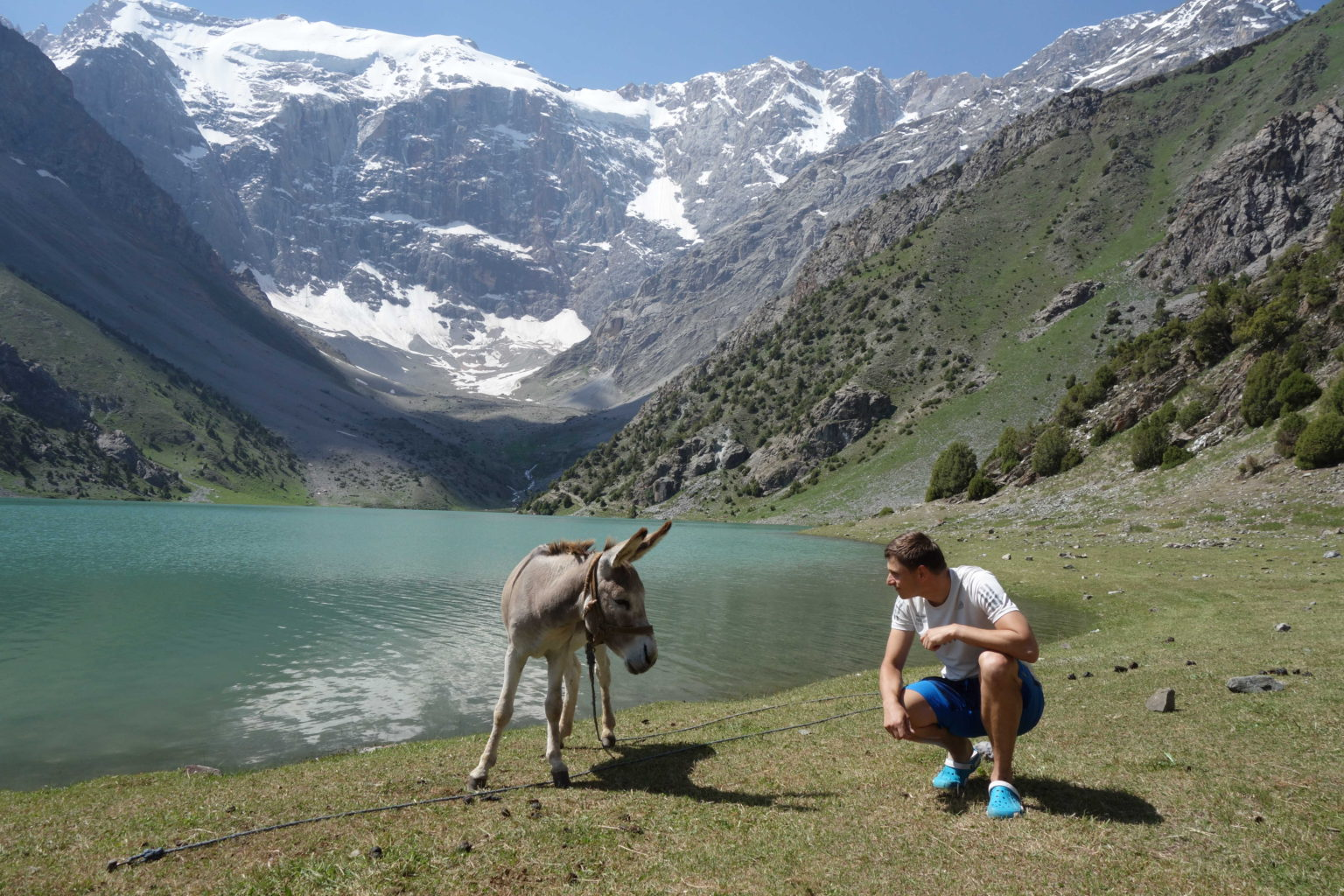 Obyvatelé v horách