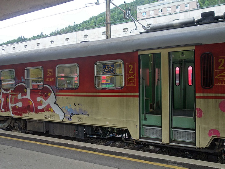 Vlak z Blejske Dobravy do Jesenice