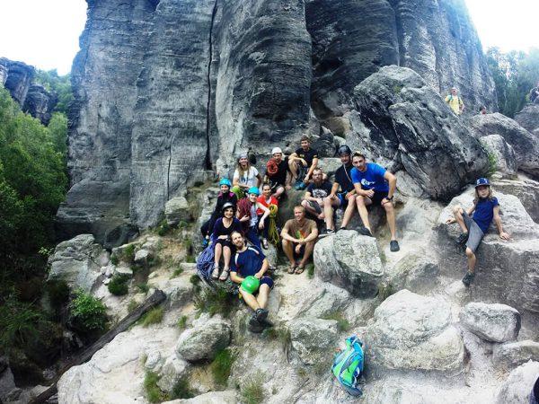 skalní lezení pro začátečníky