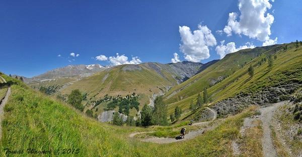 Trek v Alpách