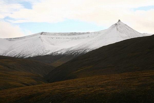 Sníh a Špicberky