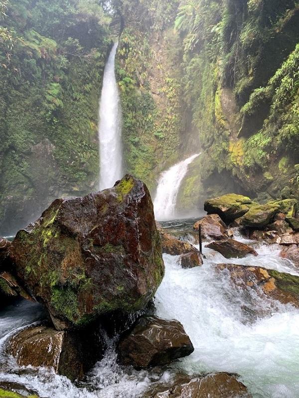 Nádherné vodopády.