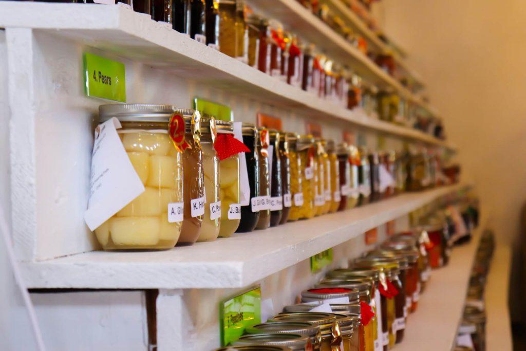 Konzervace potravin ve sklenicích