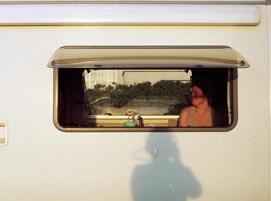 Boční okno do dodávky