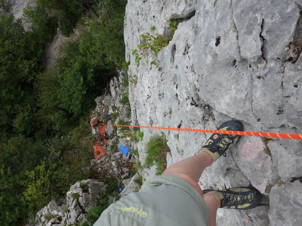 Skalní lezení ve Slovinsku, Vipava