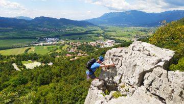 Tipy na nejhezčí skalní lezení ve Slovinsku