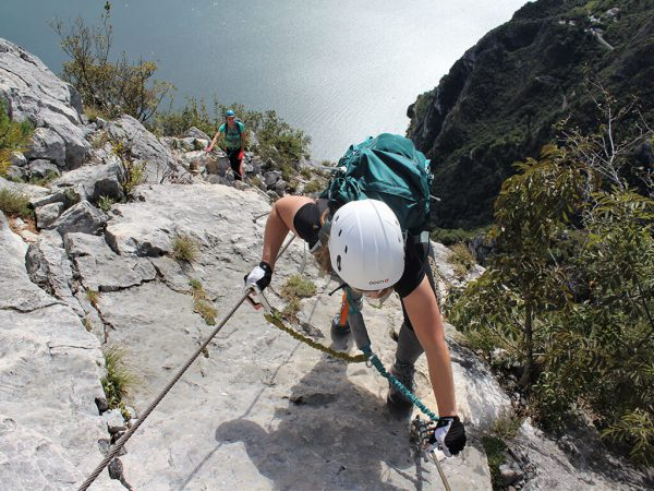 lago di garda via ferrata