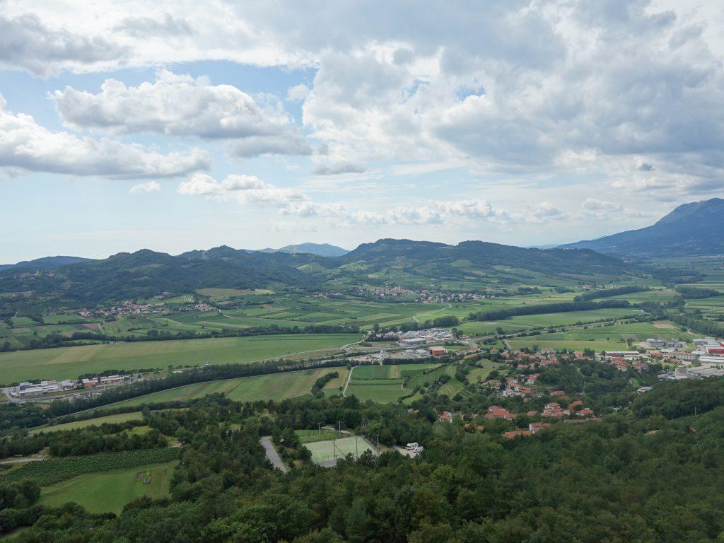Skalní lezení, Vipavské údolí.