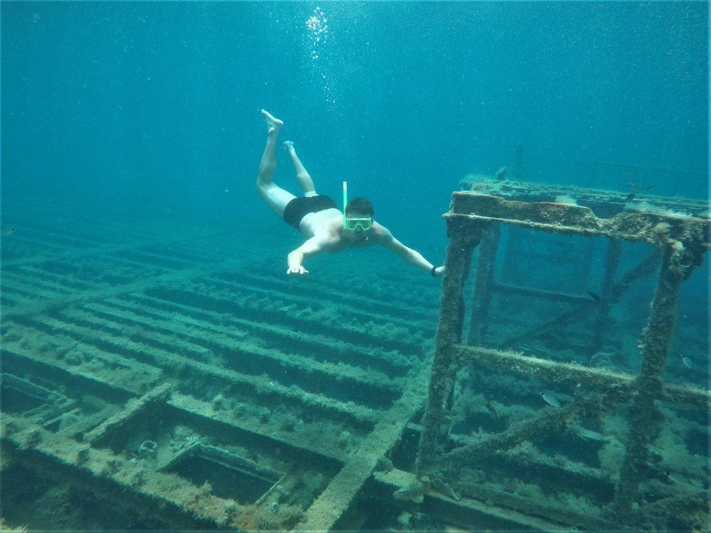 vrak lodí v chorvatsku