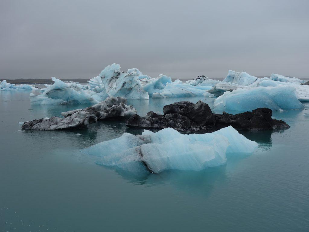 Island, ledovcové kry
