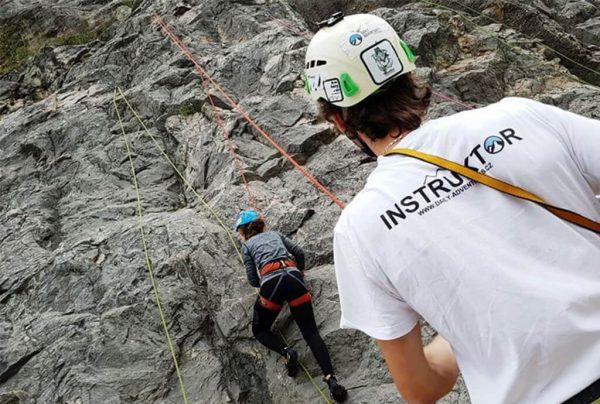 jednodenní kurz lezení