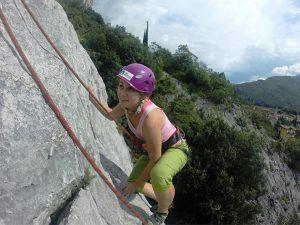 arco itálie lezení