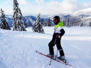 Základní kurz lyžování.