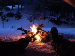 Zimní kurz přežití v horách