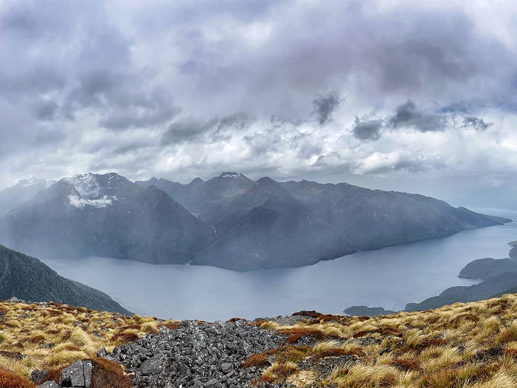 NP Fiordland Nový Zéland