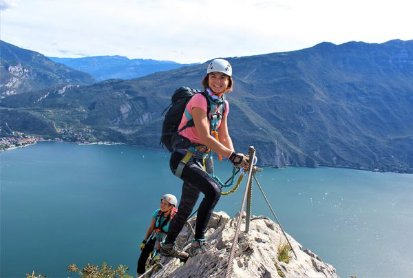via ferrata lago di garda