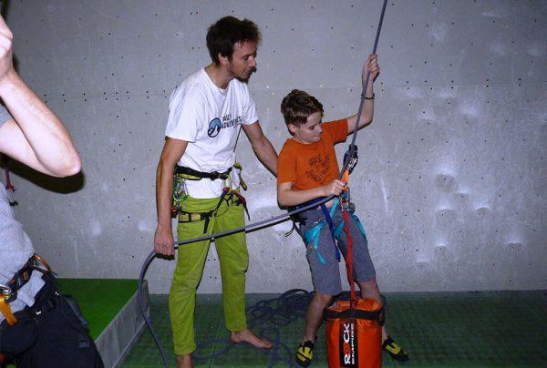 lezení pro děti