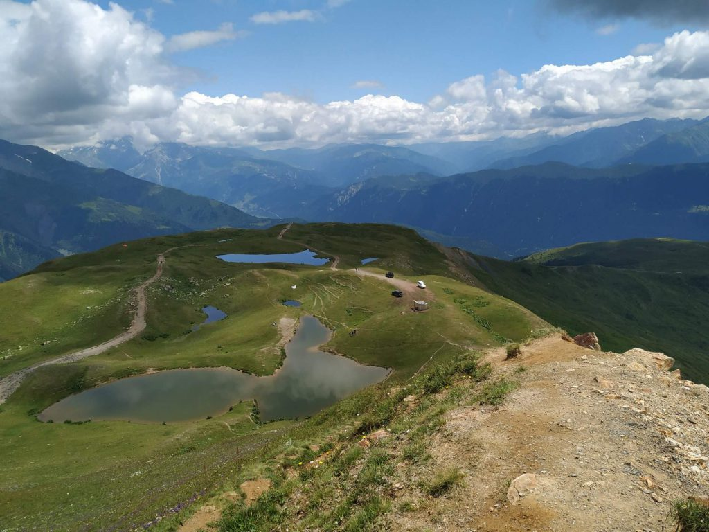 Horská jezera Mestia
