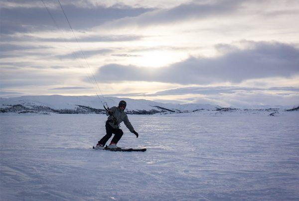 snowkiting cz