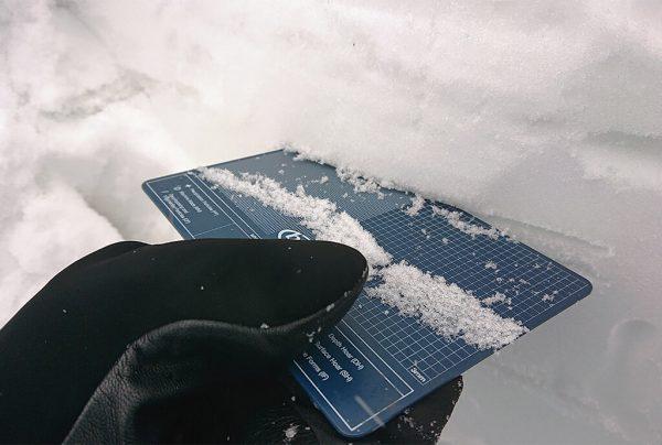 velikost sněhu