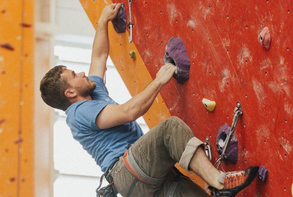 sportovní lezení trénink