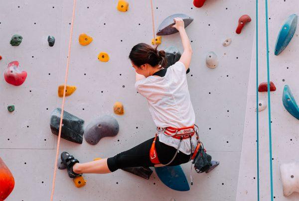 základy lezení na umělé stěně