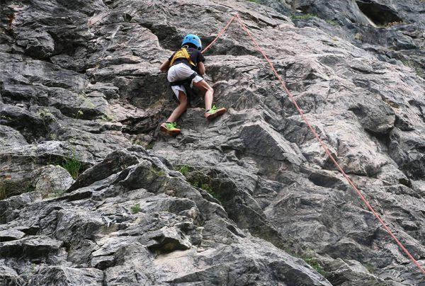 kurz lezení pro děti