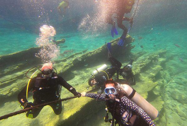kurzy potápění chorvatsko