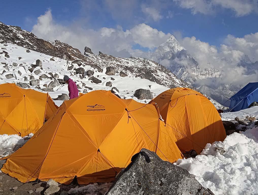 Szanování v pohoří Himaláj